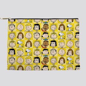 Peanuts Back to School Pattern Makeup Pouch