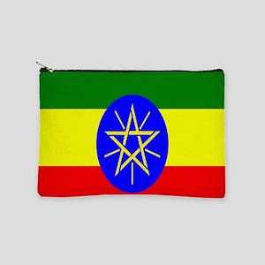 Flag of Ethiopia Makeup Bag