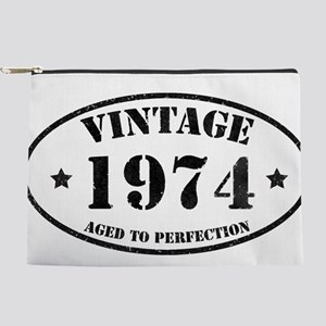 Vintage Aged to Perfection 40 Makeup Bag