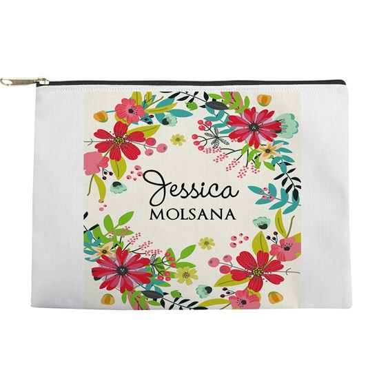 Painted Floral Personalized Monogram