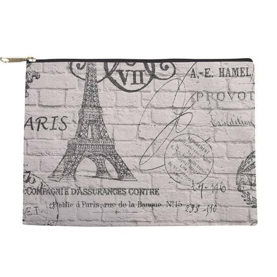 paris Eiffel tower white brick