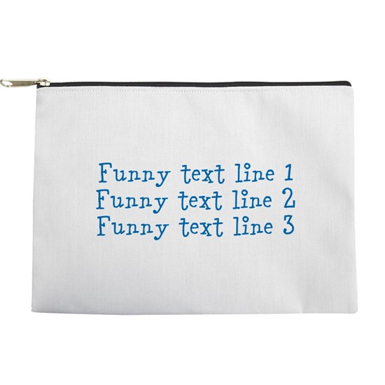 Custom Three Lines of Funny Text for Funny Message