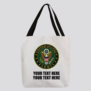 US Army Symbol Polyester Tote Bag