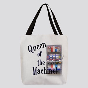 Queen of The Machine Polyester Tote Bag