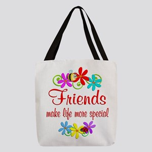 Special Friend Polyester Tote Bag