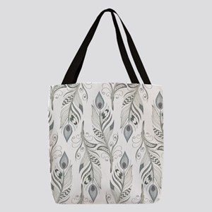 Beautiful Feathers Polyester Tote Bag
