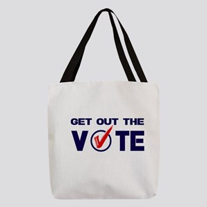 GET OUT THE VOTE Polyester Tote Bag