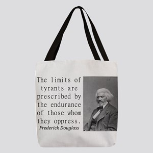 The Limits Of Tyrants Polyester Tote Bag