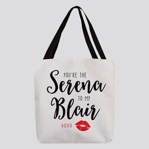 Serena to my Blair Polyester Tote Bag