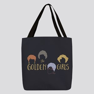 Golden Girls Minimalist Polyester Tote Bag