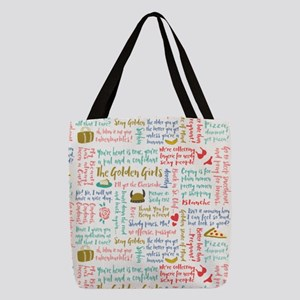 Golden Girls Quotes Polyester Tote Bag