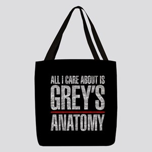 Grey's All I Care About Polyester Tote Bag