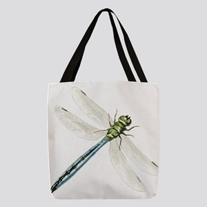 Dragonfly Polyester Tote Bag