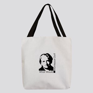 What Would Montessori Do? Polyester Tote Bag