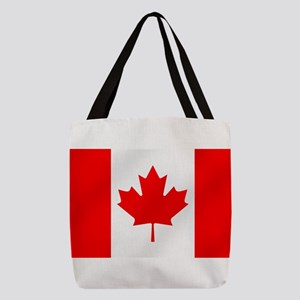 Flag of Canada Polyester Tote Bag
