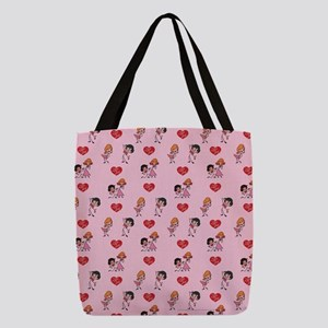 I Love Lucy: Pattern Polyester Tote Bag