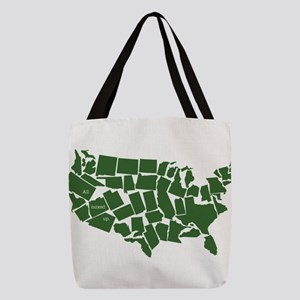 America: All Mixed Up Polyester Tote Bag