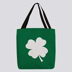 St Patricks Day Shamrock Polyester Tote Bag