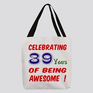 Celebrating 39 Years Of Being A Polyester Tote Bag