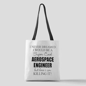 Aerospace Engineer Polyester Tote Bag