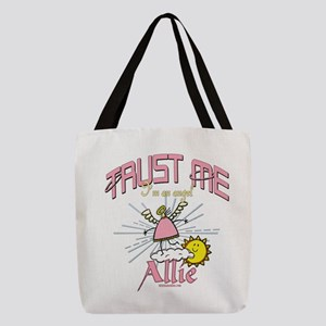 An Angel Named Allie Polyester Tote Bag