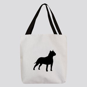 american-staffordshire-terrier- silo black Polyest