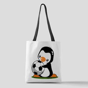 I Love Soccer (5) Polyester Tote Bag