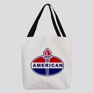 American Oil Polyester Tote Bag