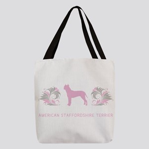 15-pinkgray Polyester Tote Bag