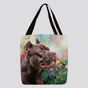 American Staffordshire Terrier Painting Polyester