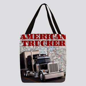 American Trucker Polyester Tote Bag
