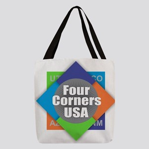 Four Corners Polyester Tote Bag