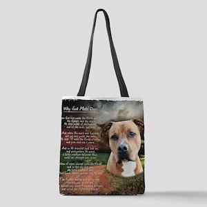 godmadedogs Polyester Tote Bag