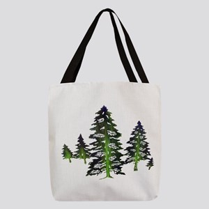 EMERALD TIES Polyester Tote Bag