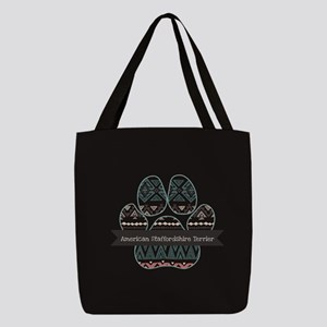 American Staffordshire Terrier Polyester Tote Bag
