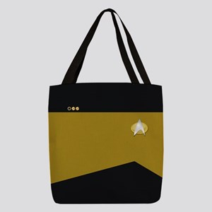 Star Trek: TNG Ops Lt. Commande Polyester Tote Bag
