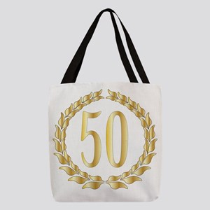 50th Anniversary Polyester Tote Bag