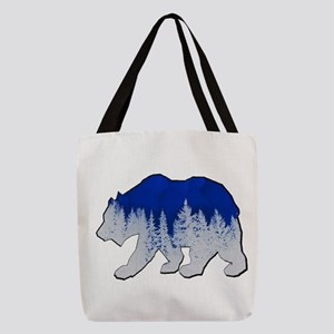 WINTER SHOWN Polyester Tote Bag