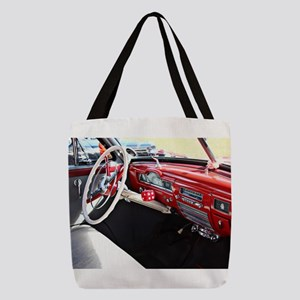 Classic car dashboard Polyester Tote Bag