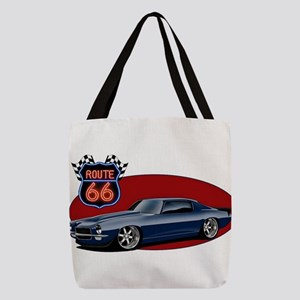 Route 66 Camaro Polyester Tote Bag