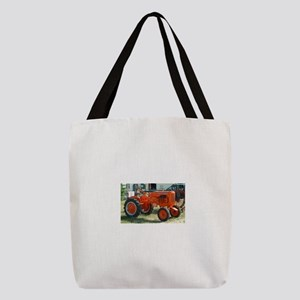 Allis Chalmers Tractor Polyester Tote Bag