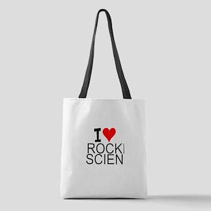 I Love Rocket Science Polyester Tote Bag