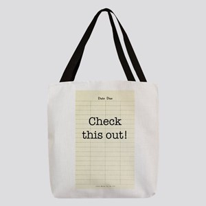 Check This Out Polyester Tote Bag