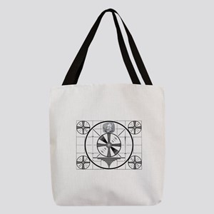Test Pattern Polyester Tote Bag