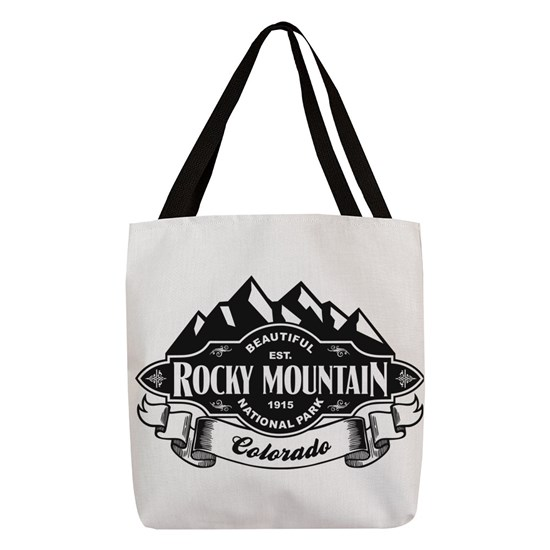 Rocky Mountain Mountain Emblem Black