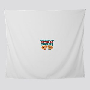 Twins sister sane Wall Tapestry