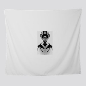 Dark homonyms african art Wall Tapestry