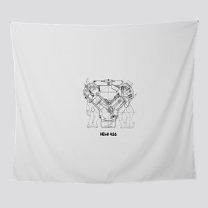 V8 Engine Wall Tapestry