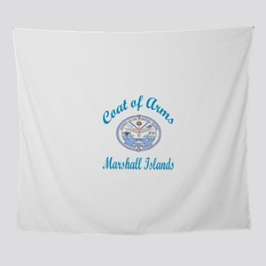 Coat Of Arms Marshall Islands Countr Wall Tapestry