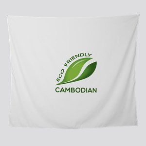 Eco Friendly Cambodian County Design Wall Tapestry